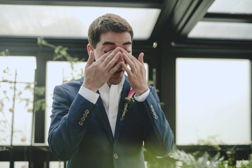 Washington DC mini wedding at rose's luxury