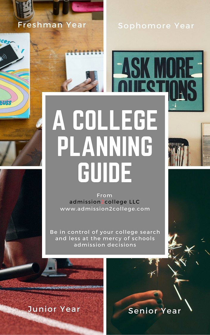To be more in control of your college search and less at the mercy of schools admission decisions sign up for your free copy of A College Planning Guide. -
