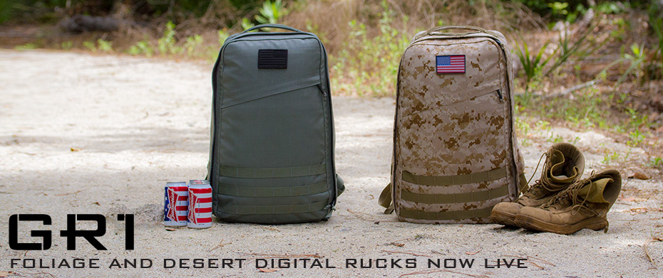 Foliage and Digital Desert GORUCK backpack product image