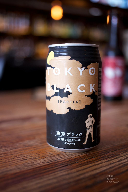 Little Tokyo - Far bar - Tokyo Black Porter Beer