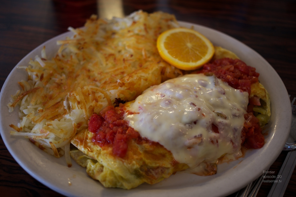 Joshua Tree - Mexican Special omelette
