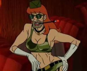 Hunter S. Thompson big tits - Venture Brothers
