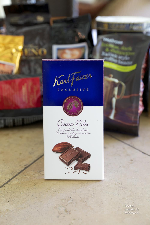 Karl Fazer - Cocoa Nibs 70% - Finland