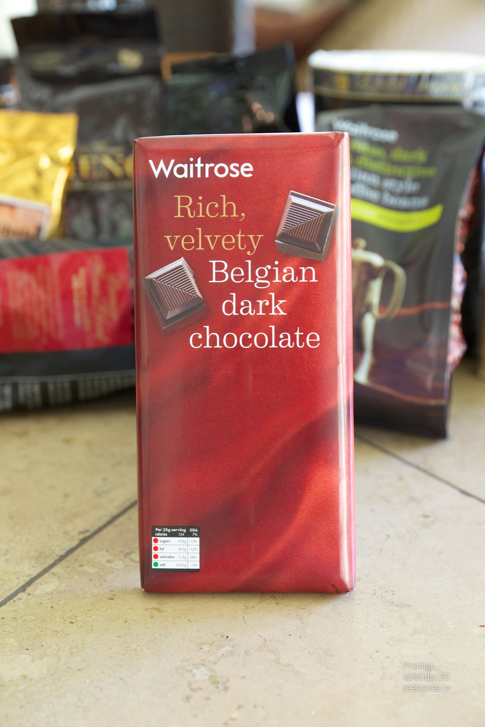 Waitrose - Belgian Dark Chocolate - London, England