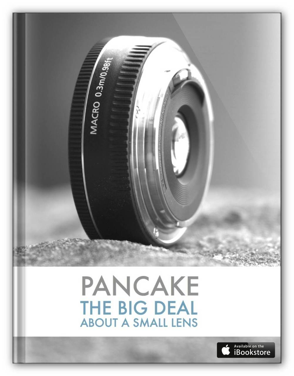 Pancake - Canon EF 40mm f/2.8 STM, Canon's Cutest Lens - Book Cover - iBooks