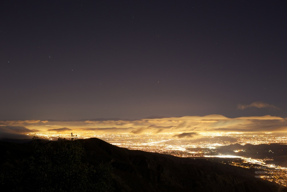 Lake Elsinore, CA - City Glow