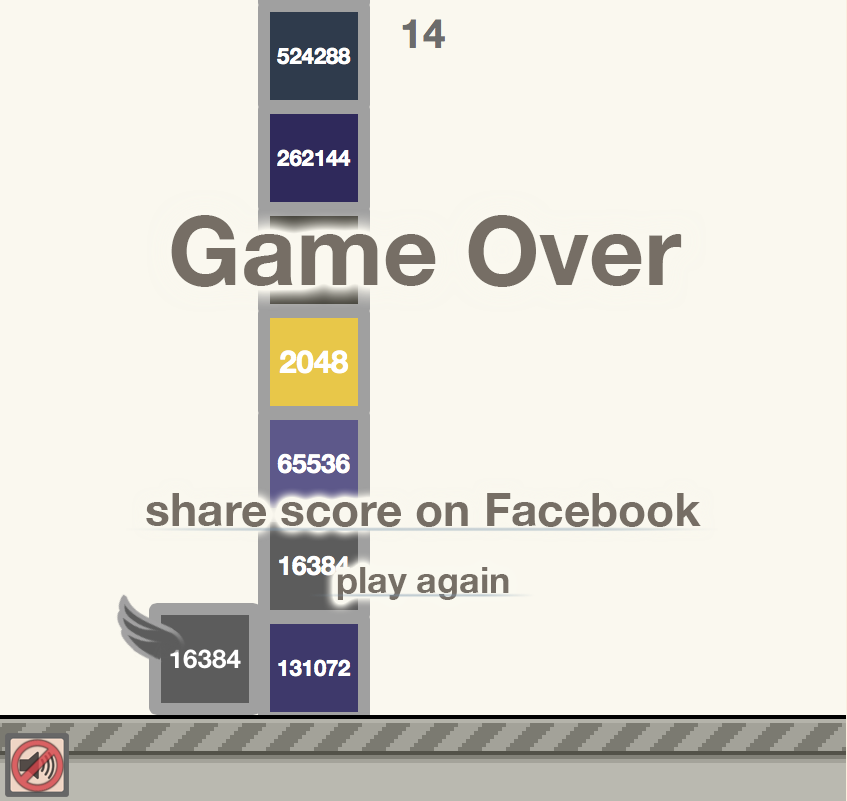 Flappy2048 - Flappy Bird and 2048