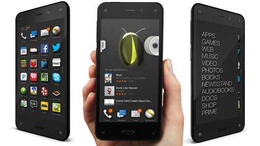 Amazon Fire phone - multiple angles