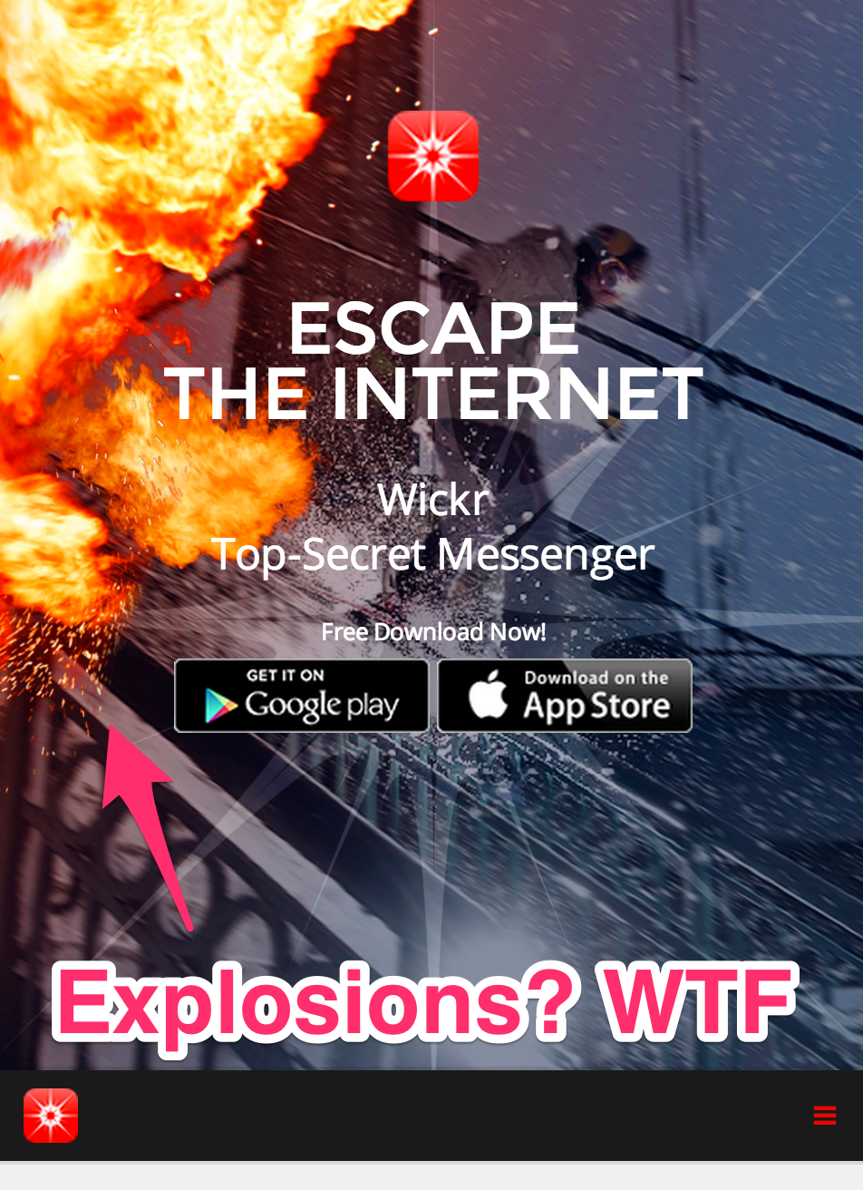 Wickr the satirical crypto messenger.png