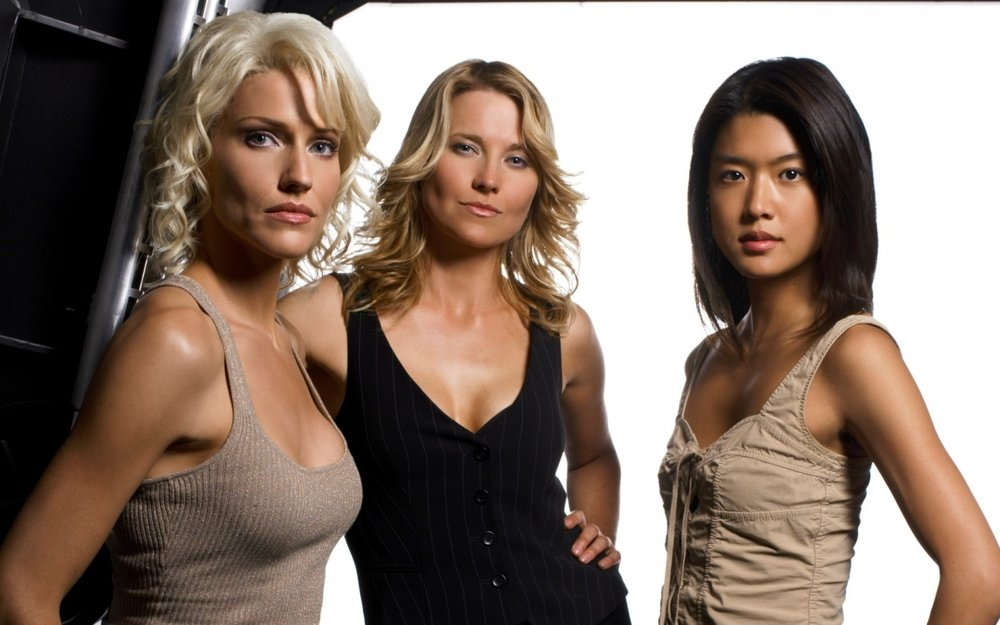 Battlestar Galactica - Grace Park (right)