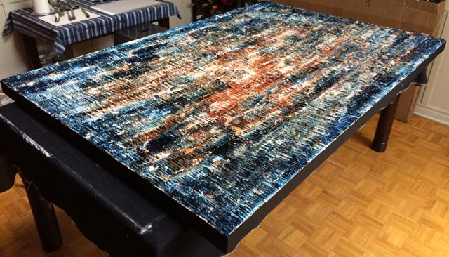 Mon studio est situé sur le Plateau Mont-Royal, à Montréal QC. Contactez-moi pour arranger une visite!