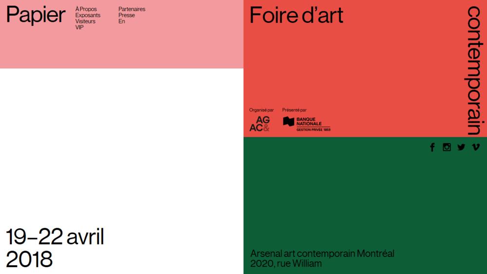 Papier 18 - Foire d'art contemporain