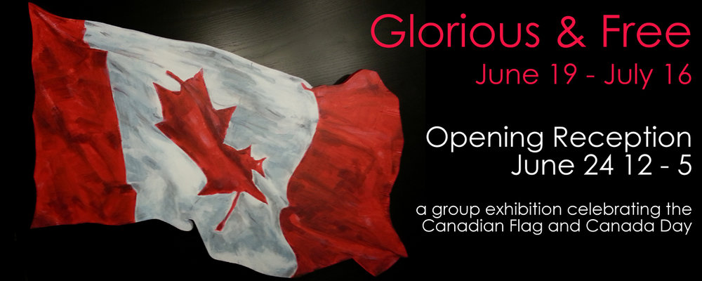 Petroff Gallery's Glorious and Free Group Exhibition promotional banner