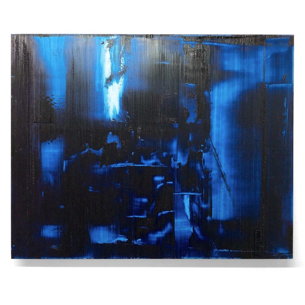 """Electric Dreams   Huile sur panneau d'aluminium, 16"""" x 20"""""""