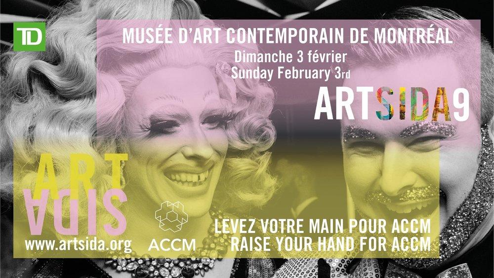 Artsida9 — Encan principal le dimanche 3 février 2019 au Musée d'art Contemporain de Montréal