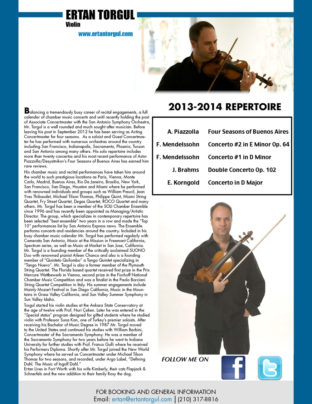 One Sheet- Page 2