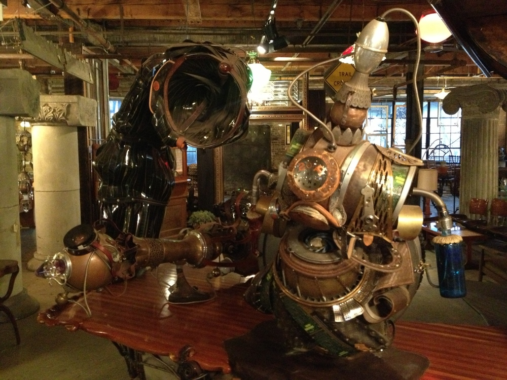 Steampunk Wedding Venue Salvaged And Reclaimed Fotio
