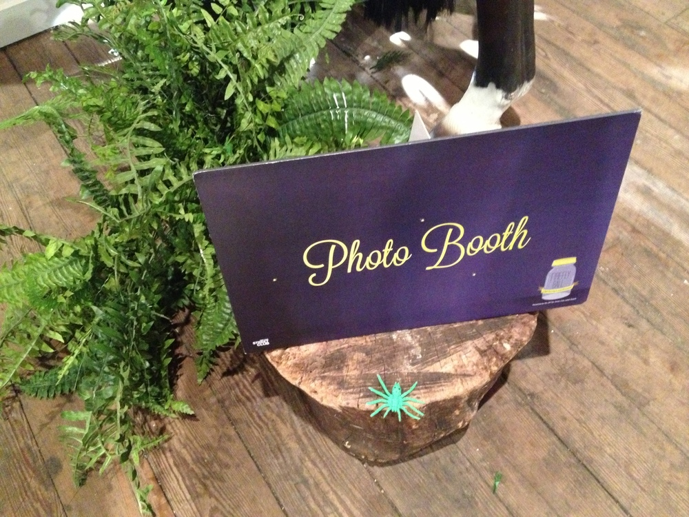 Firefly Ball Photo Booth Sign.