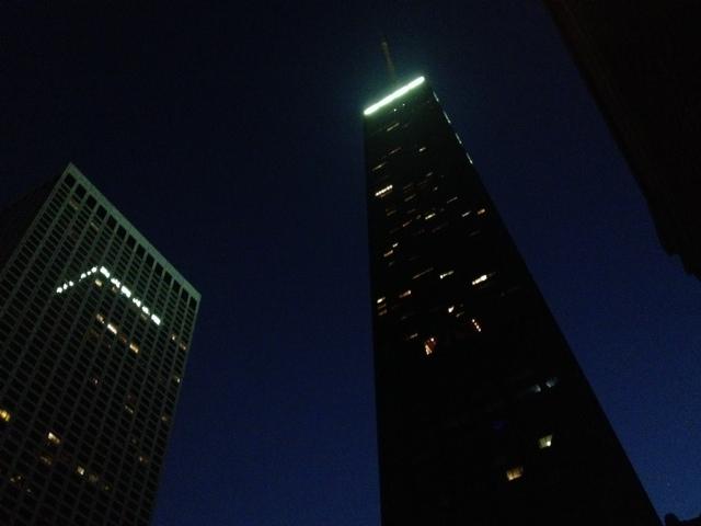 Chicago Night Sky.
