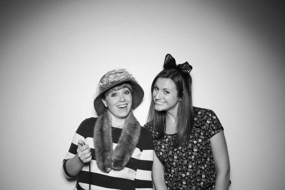 A picture of Carolyn and Amy from An Event Less Ordinary!