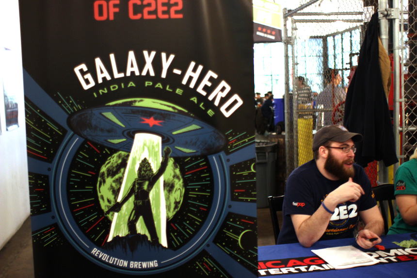 Galaxy Hero India Pale Ale!