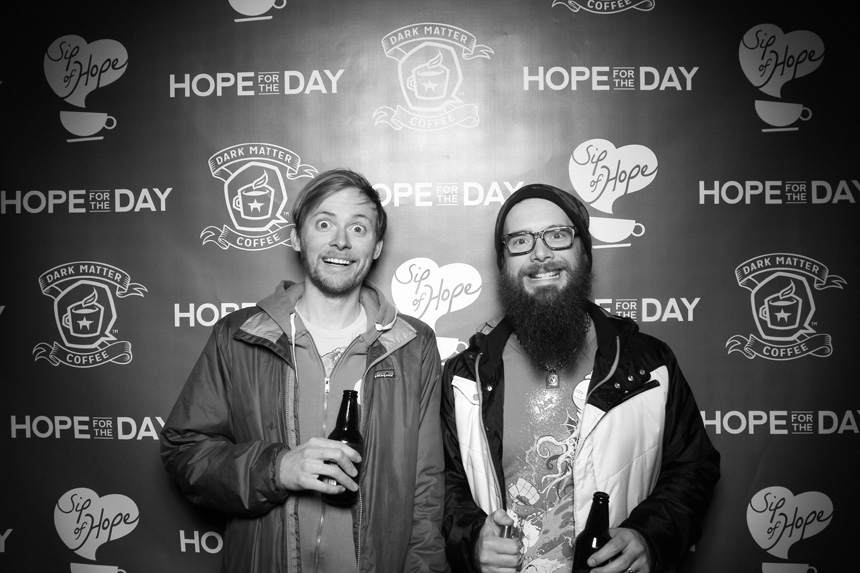 A picture of Jake Nickell and Lance Curran from Threadless in Chicago, IL.