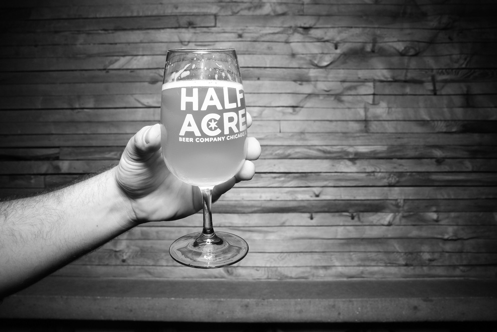 Chicago beer at it's finest. Half Acre Beer Company glassware.