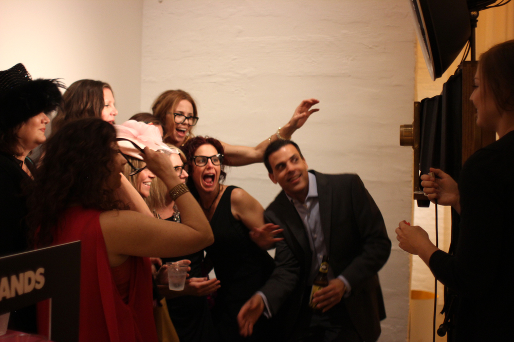 The Fotio photo booth in full force at Chez Chicago!