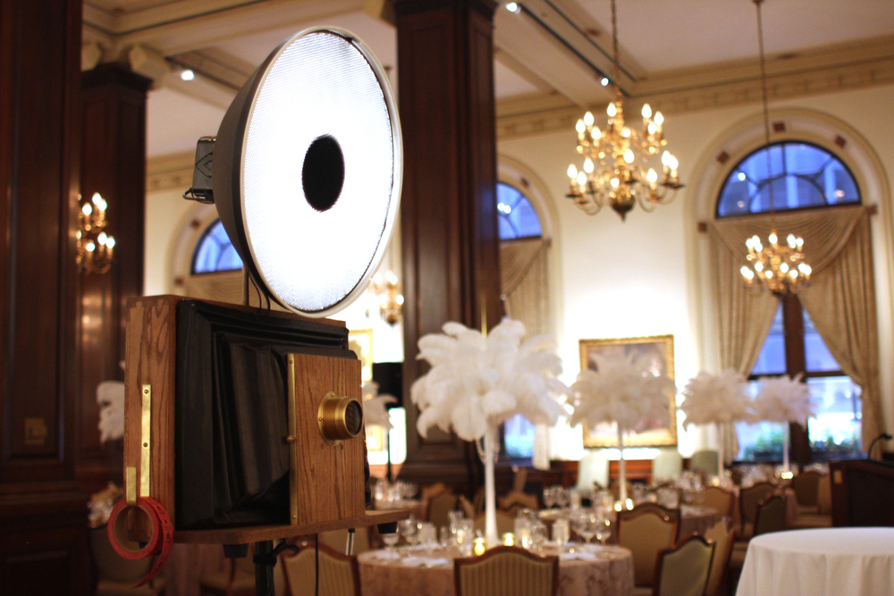 Fotio photo booth at the Union League Club of Chicago.