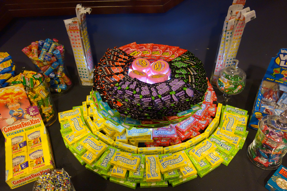 Extreme candy table! Look at all these goodies.