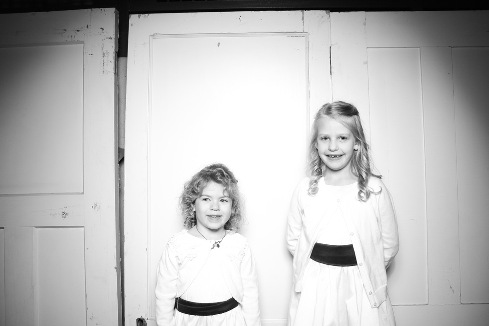 Flower girls looking super cute!