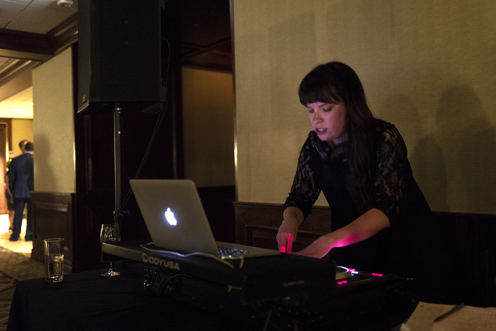 DJ Kristin from Toast and Jam rocking!