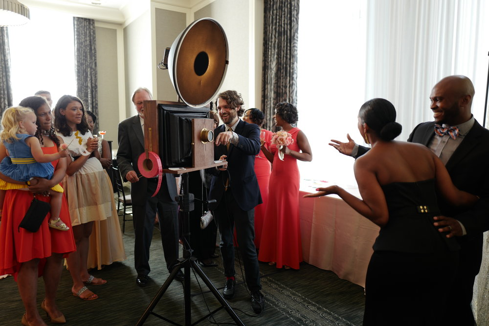 A Fotio Photo Booth Setup At The Waldorf Astoria Chicago