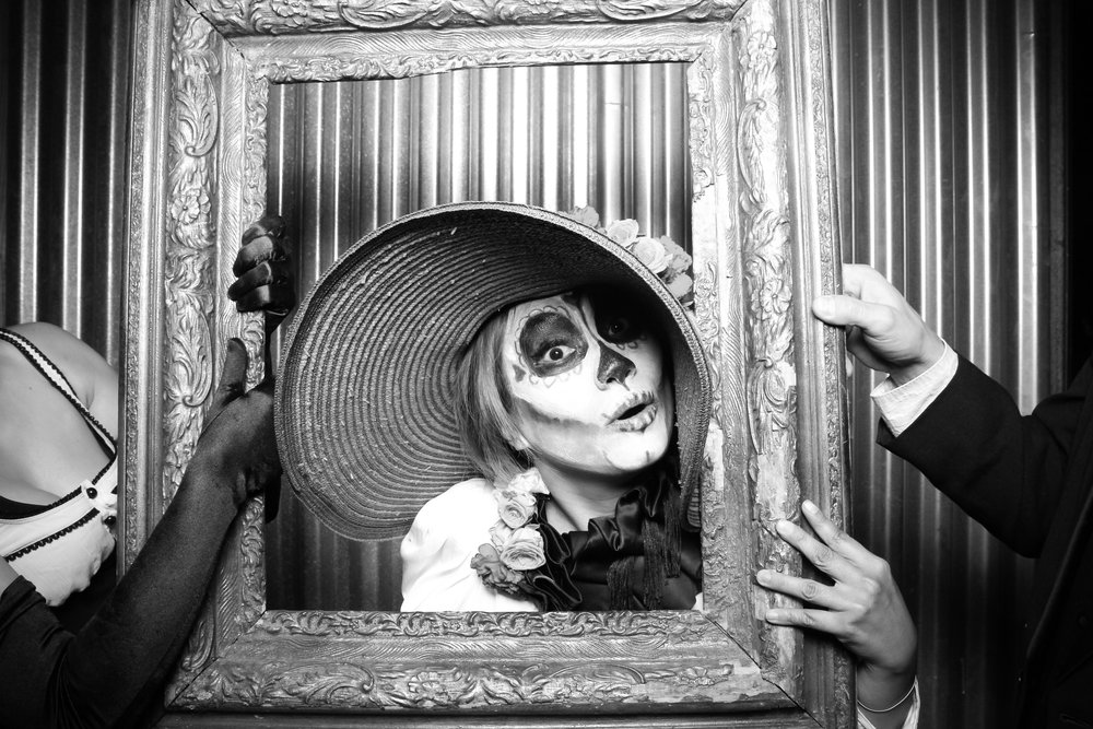 Dia de los Muertos inspired costume!