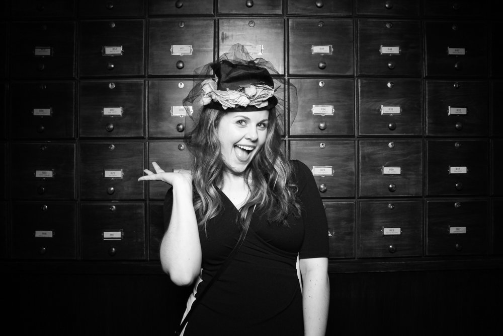 Corporate 1920s photo booth rental Chicago!