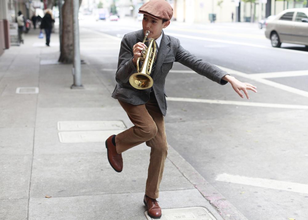 Gabriel Angelo: Trumpet Kid