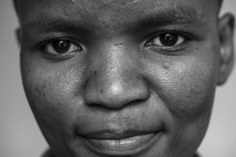 Neema Gerald Olomi, 23, Ariel Club member, Mt. Meru Regional Hospital in Arusha, Tanzania.