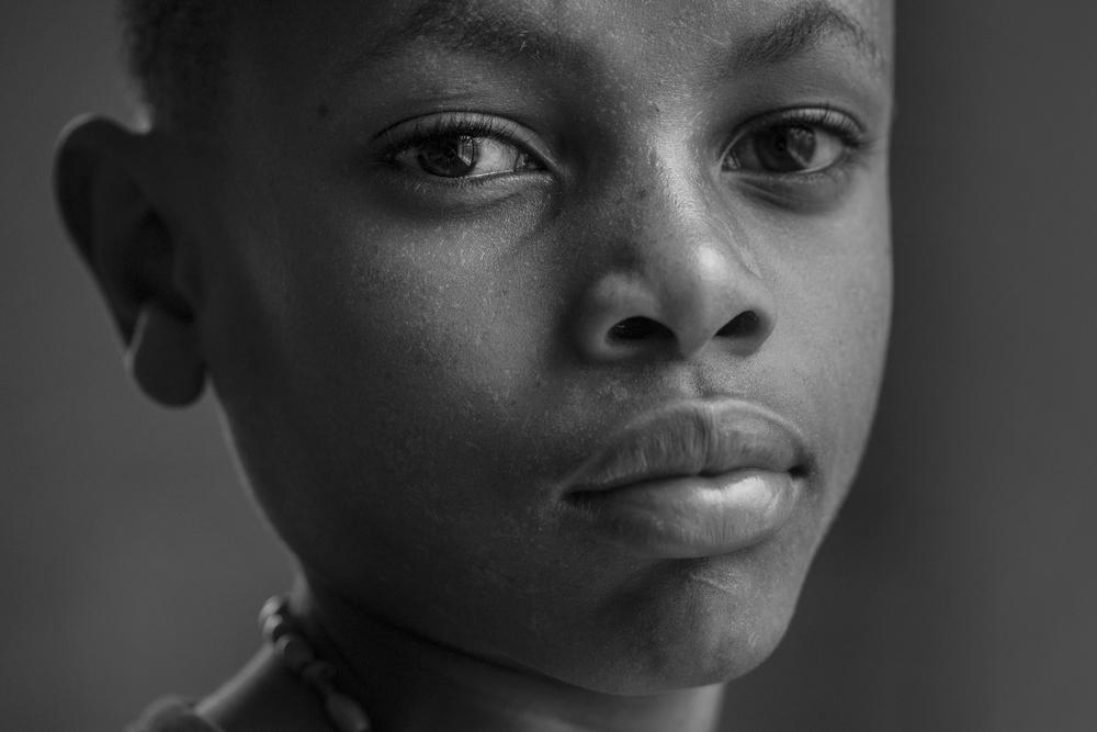 Nicas Evans, 12, Ariel Club member, Mt. Meru Regional Hospital in Arusha, Tanzania.