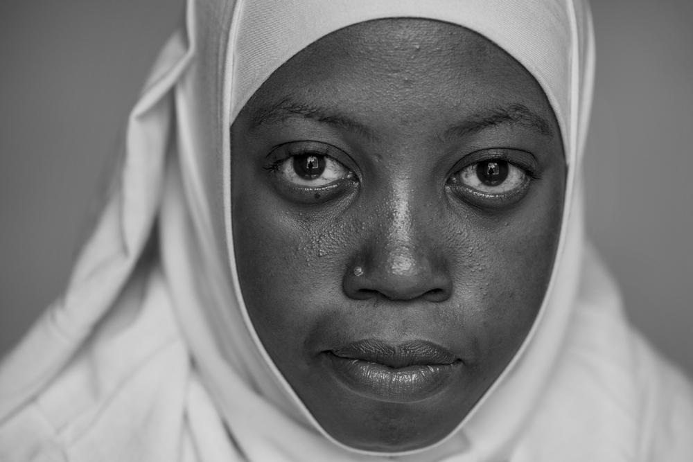 Husna Abdi, 19, Ariel Club member, Mt. Meru Regional Hospital in Arusha, Tanzania.