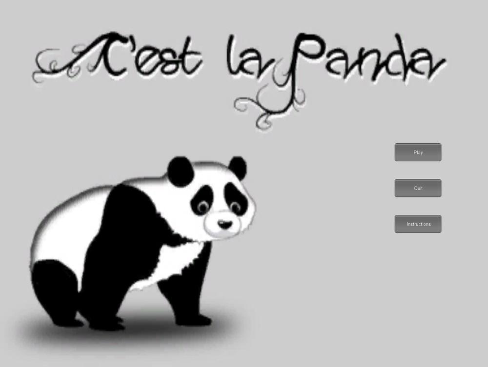 c est la panda mindy rosenfelder