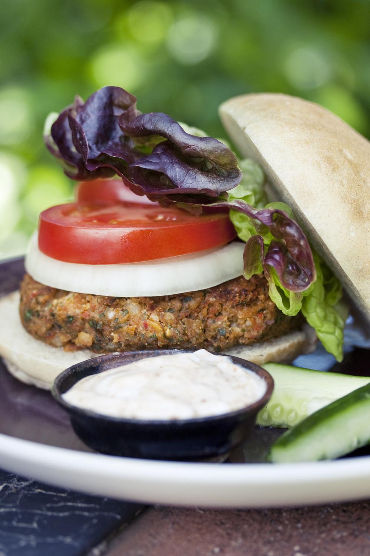Karma Burger with Chipotle Mayo