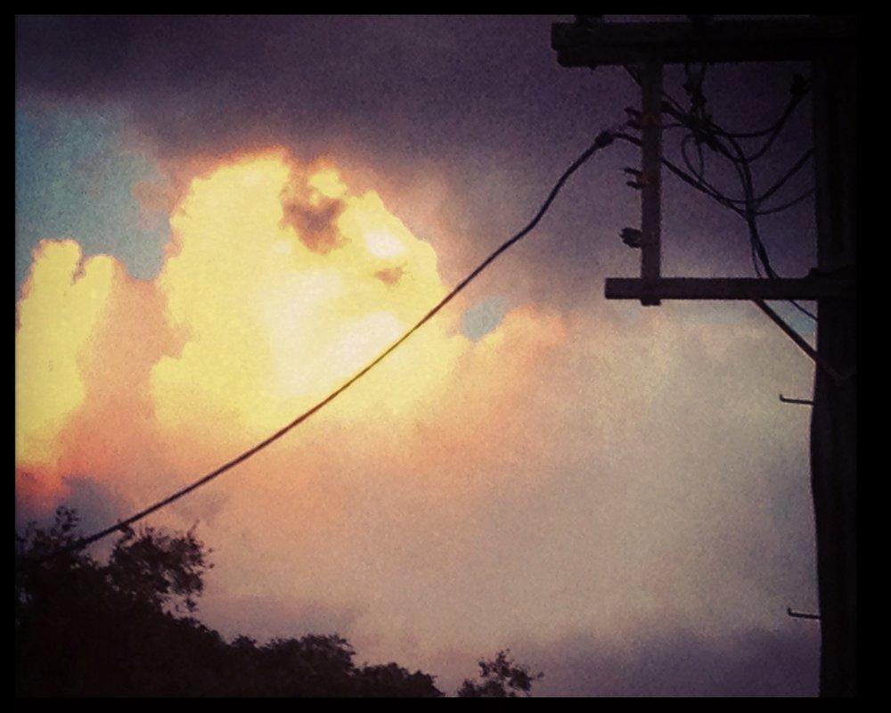 A Postmodern sunset.