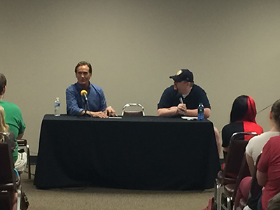 John Wesley Shipp and Brian Eison