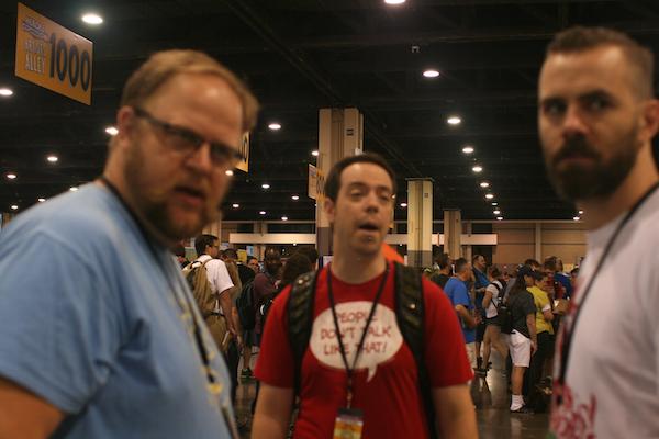 Left to Right: J Chris Campbell, Adam Daughhetee, Wes Brooks