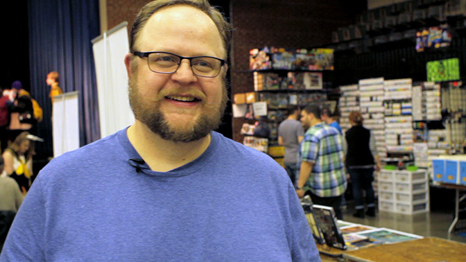 J Chris Campbell at Charlotte Mini-Con