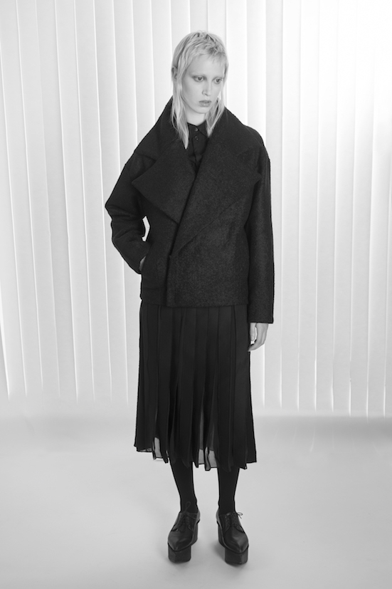 Love_is_stronger_Esther_perbandt_black_voluminous_collar_Jacket_cocoon_skirt_stripes_photo_birgit_kaulfuss.jpg