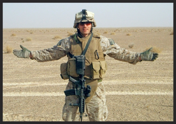 First Lieutenant   Travis Manion  , 26, of Doylestown, Pennsylvania, assigned to 1st Reconnaissance Battalion, 1st Marine Division, I Marine Expeditionary Force, based in Camp Pendleton, California, was killed by sniper fire on April 29, 2007 while fighting against an enemy ambush in Anbar Province, Iraq. He is survived by his father, Colonel Tom Manion, mother Janet Manion, and sister Ryan Borek.