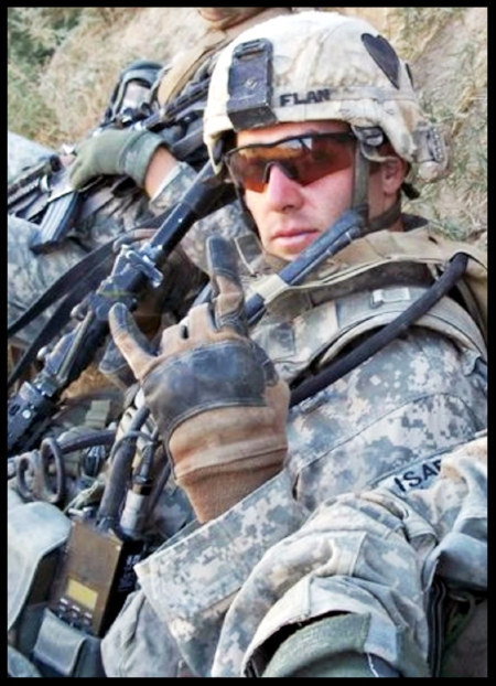 U.S. Army Staff Sergeant Sean M. Flannery, 29, of Wyomissing, Pennsylvania, assigned to the 2nd Battalion, 502nd Infantry Regiment, 2nd Brigade Combat Team, 101st Airborne Division (Air Assault), based in Fort Campbell, Kentucky, was killed on November 22, 2010, in Kandahar province, Afghanistan, when insurgents attacked his unit with an improvised explosive device. He is survived by his fiancee Christina Martin, mother Charlene Flannery, and brothers Sergeant Brian Flannery and Devin Flannery.