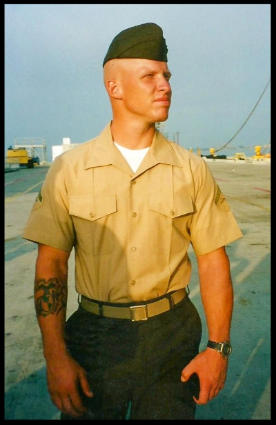 U.S. Marine Cpl. Marc T. Ryan, of Gloucester City, New Jersey, died Nov. 15, 2004, from a roadside bomb in Ramadi, Iraq. The 25-year-old was a weapons specialist assigned to the 2nd Battalion, 5th Marine Regiment, 1st Marine Division, I Marine Expeditionary Force at the Marine Corps Base Camp in Pendleton, California. Ryan is survived by his parents, Thomas and Linda; brother, Chris; and sister, Lauren.