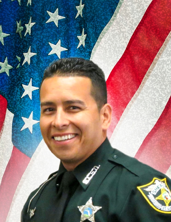 "Sgt. Gary ""Foo"" Morales, of the Port St. Lucie County Sheriff's Office in Florida, died Feb. 28, 2013. Morales, 35, was fatally shot during a traffic stop. The Air Force veteran was employed by the St. Lucie County Sherriff's Office for 12 years and had just been promoted to Sergeant Deputy. He is survived by his wife, Holly; daughters, Brooklyn and Jordan; parents, William and Candy; brothers, Brian, Ken and Brad; grandmother, Romanita Rodriguez; and eight nieces and nephews."